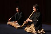 「秋風曲」箏:山登松和師 尺八:善養寺惠介師
