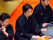 大和楽「お祭り」〜鳴物:藤舎呂英(第10回受賞/写真中央)