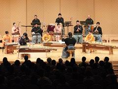 十七絃と邦楽器群のための協奏曲(十七弦独奏:市川慎)