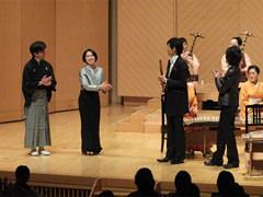 終演/左から二番目、高橋久美子